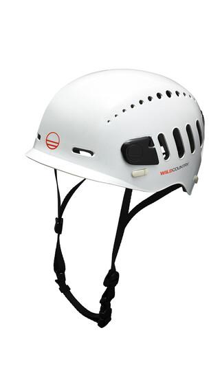 Wild Country Fusion Helmet White/Black